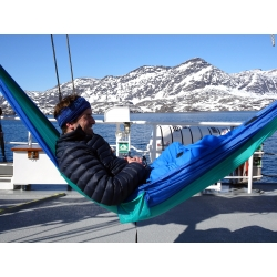 Šūpuļtīkls ADVENTURE HAMMOCK, Ice Blue