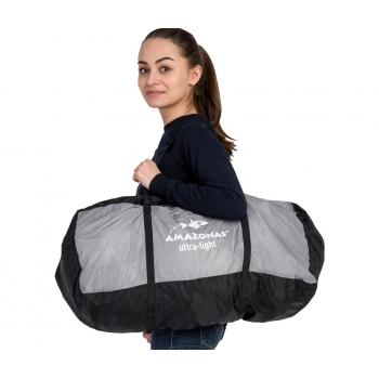 ADVENTURE TRAVEL BAG STONE, Ultra-light
